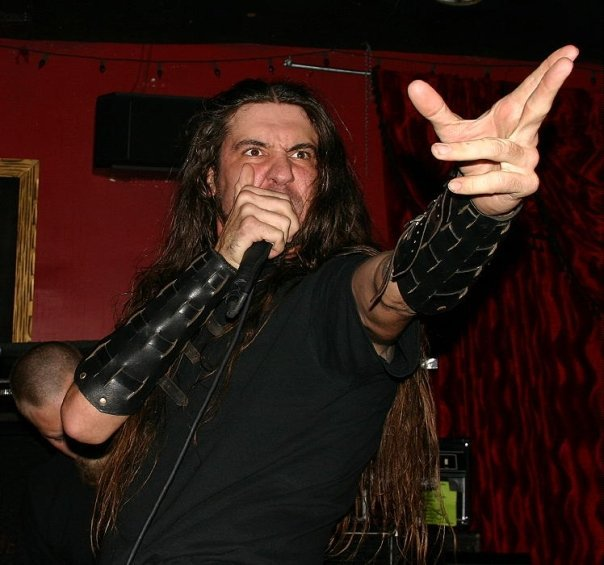 Ben Falgoust of Goatwhore at the Marquis Theater